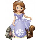 Foil AirWalker Sofia the First Helium Balloon