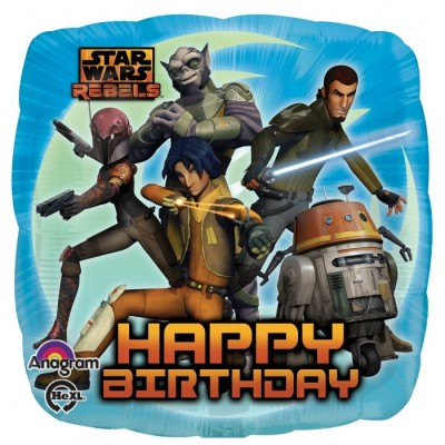 "Star Wars Rebels Licensed Shape 18"" Foil Helium Balloon"