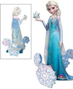 Foil AirWalker Frozen Elsa Helium Balloon