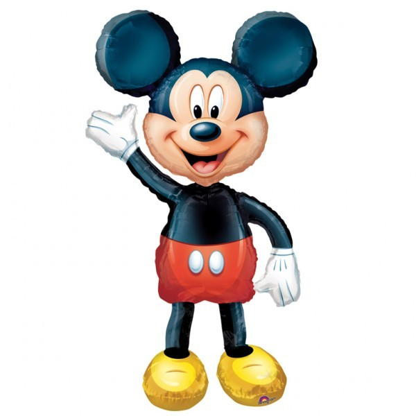 Foil AirWalker Mickey Helium Balloon