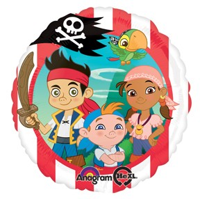 Licensed Foil 18inch Jake and the Neverland Pirates