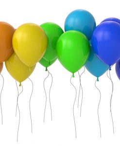 90 Helium Balloons