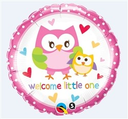 Qualatex Foil 18inch Welcome Little One