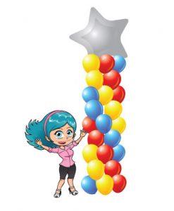 Helium Balloon Arrangements