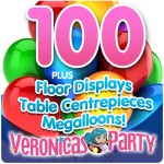 Complete Helium Balloon Party Pack 8