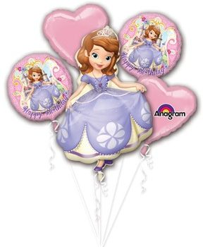 sofia the first bouquet